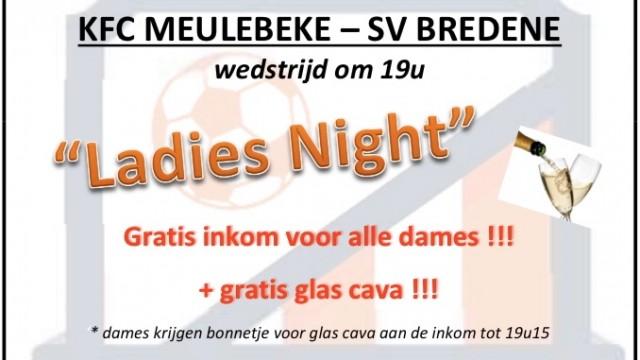 thuismatch Bredene - Ladies Night